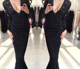 Mermaid Black Long S..