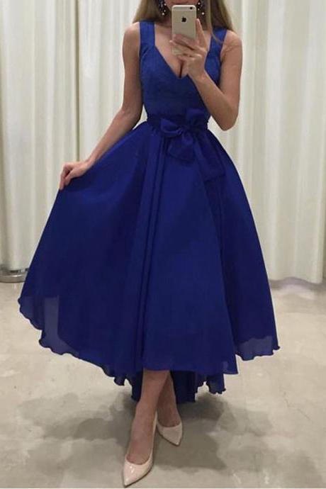 Sexy Royal Blue Prom dress, Evening Dress ,Party Gowns Formal Dresses