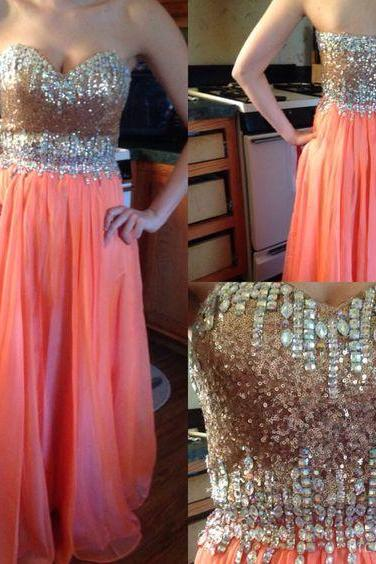 Sexy Formal Dresses,Beaded Prom Dresses,Beadings Evening Gown,Modest Evening Dress