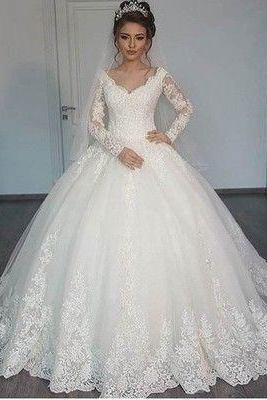Princess Wedding Dress,Dresses For Brides,Bridal Gown