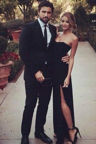 Charming Prom Dress,Black Prom Dress,Floor Length Prom Gown,Long Evening Dress,Formal Dress