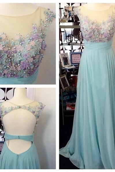 Prom Dresses,Evening Dress,Party Dresses,Lace Prom Dresses,Light Sky Blue Prom Dress,Modest Prom Gown,A Line Prom Gown,Evening Dress,Chiffon Evening Gowns,Party Gowns