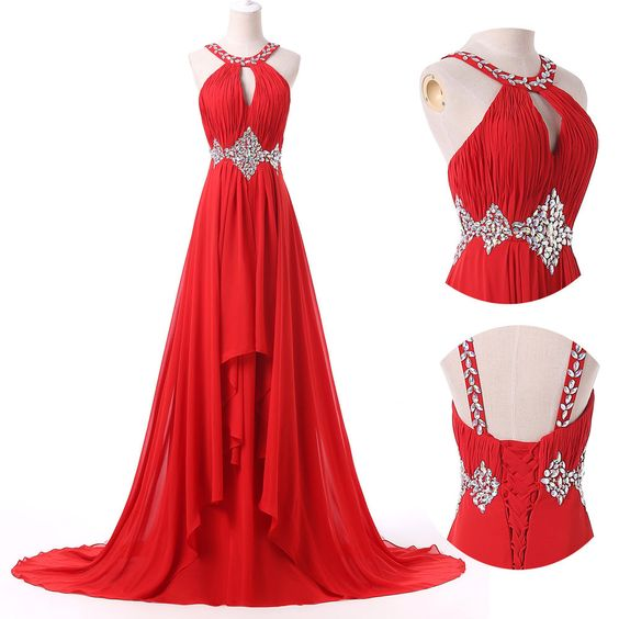Long Chiffon Formal Party Evening Prom Dress Cocktail Bridesmaid Dress Gown