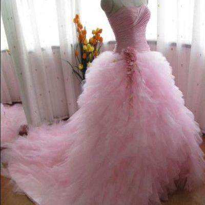 Ball Gowns Prom Dresses,Modest Evening Dresses, Sweetheart Party Prom Dresses,Formal Prom Gowns